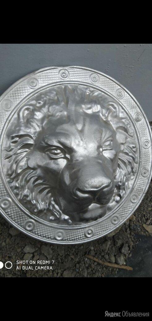 Декоративный элемент кованая голова льва по цене 200₽ - Декоративные фонтаны и панели, фото 0