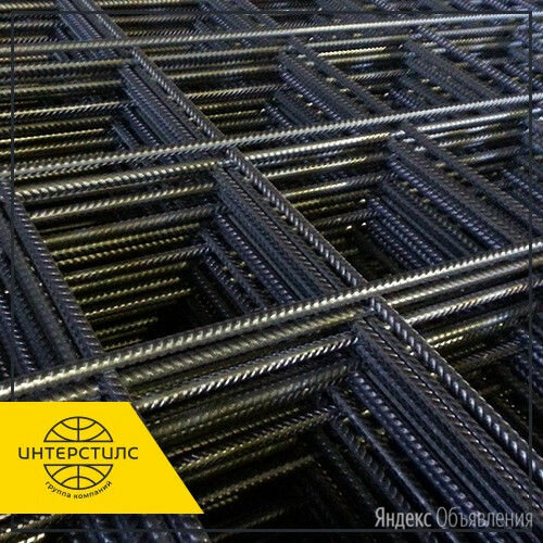 Сетка стальная кладочная 100х100х4 мм ГОСТ 23279-85 2х4 м по цене 140₽ - Металлопрокат, фото 0