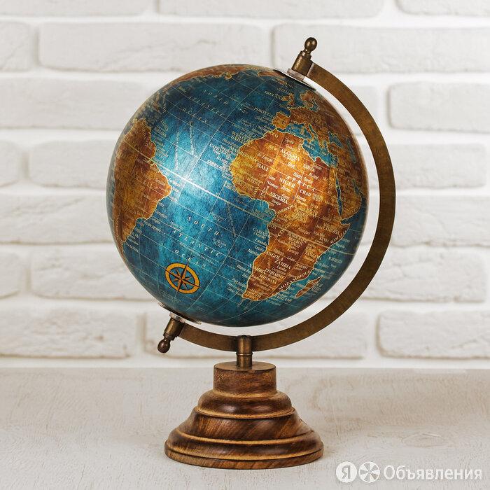 """Сувенир глобус """"Морской"""" 22х22х30 см по цене 3831₽ - Сувениры, фото 0"""