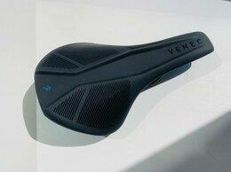 Седла и штыри - Новое седло Cube Venec black/petrol 244x144mm, 0