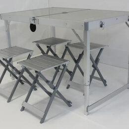 Походная мебель - Складной туристический стол со стульями, 0