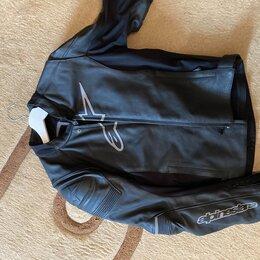 Мотоэкипировка - Мотокуртка alpinestars кожа, 0