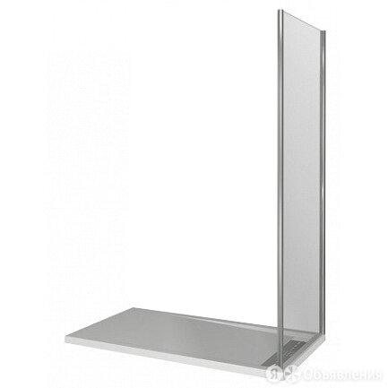 Душевое ограждение GOOD DOOR BAS WALK IN SP+P-100-C-CH (1000х1950) по цене 8485₽ - Души и душевые кабины, фото 0