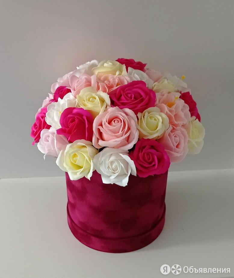 Букет из мыльных цветов по цене 2200₽ - Цветы, букеты, композиции, фото 0