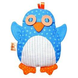 Развивающие игрушки - Развивающая мягкая игрушка с вишнёвыми косточками 'Доктор Мякиш Пингвин', 0