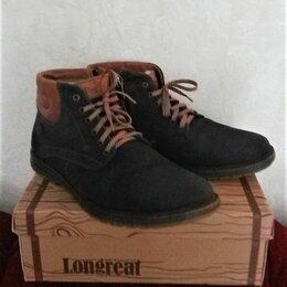 Ботинки - Ботинки, натуральная кожа, 0