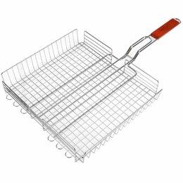 Решетки - Глубокая решетка-гриль для мяса Maclay Premium, 0