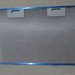 Вытяжки - Алюминиевый жировой фильтр для кухонной вытяжки 420х280, 0