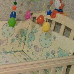 Постельное белье - Комплект в детскую кроватку., 0