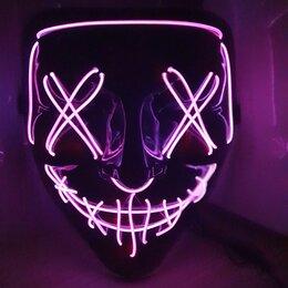 Карнавальные и театральные костюмы - Артикул валберис 36124230 Неоновые маски судная ночь, 0