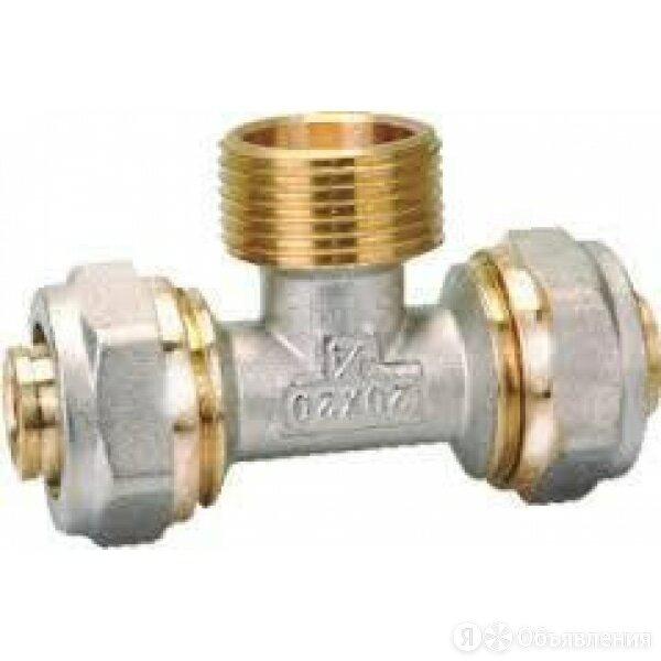 Тройник 20х3/4Fх20 по цене 260₽ - Водопроводные трубы и фитинги, фото 0