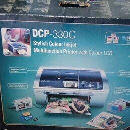 Принтеры, сканеры и МФУ - Мфу brother dcp-330c, 0
