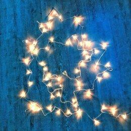 Новогодний декор и аксессуары - Гирлянда новогодняя(не только) белого теплого цвета, 0