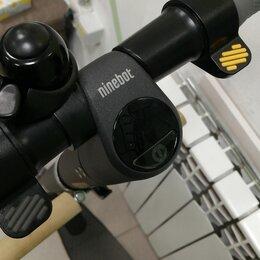 Мото- и электротранспорт - Электросамокат  нанобот е25, 0