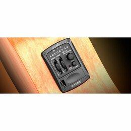 Тюнеры и метрономы  - Cherub Эквалайзер Cherub GU-3  для укулеле, врезной, двухполосный, с тюнером, 0