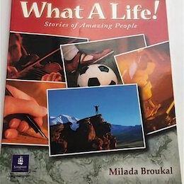 """Наука и образование - Учебник (углубленный английский язык) """"What a Life"""", 0"""