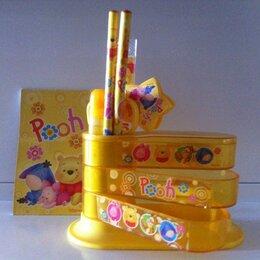 Туалеты и аксессуары  - Организатор детский 9 предметов МS-8848 веер желт. Винни Пух, 0