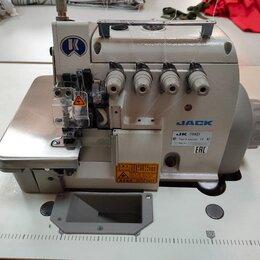 Оверлоки и распошивальные машины - Оверлок jack JK 798D-5-A04/435 для ср/тяж тканей, 0