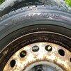 Две зимние шины Данлоп на оригинальных дисках фольксваген т4 по цене 6200₽ - Шины, диски и комплектующие, фото 3