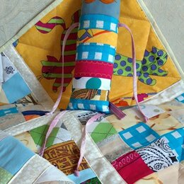 Покрывала, подушки, одеяла - Лоскутное одеяло для малыша, 0