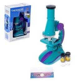Детские микроскопы и телескопы - Микроскоп детский с набором для исследований, цвета МИКС, 0