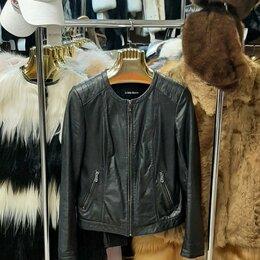 Куртки - Куртка кожаная р-р 44-46 , 0