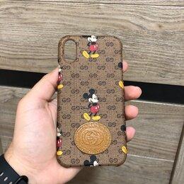 Чехлы - Чехол Gucci&Disney на iPhone X, 0