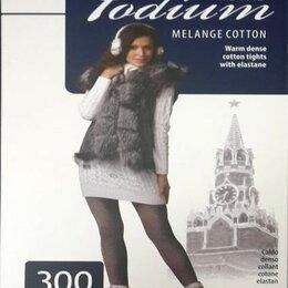 Колготки и носки - Колготки женские Podium Cotton Plus 300 ден, 0