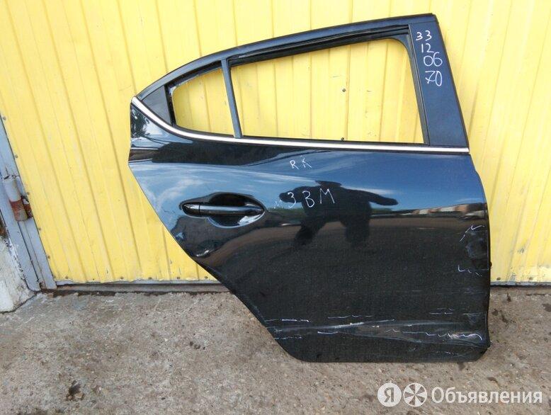 дверь задняя правая MAZDA 3 BM  по цене 2500₽ - Кузовные запчасти, фото 0
