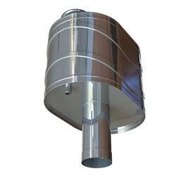 Дымоходы - УМК Бак на трубе УМК 50л для печи Д 115 мм 0,8мм, 0