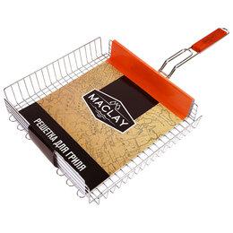 Решетки - Решётка-гриль для мяса, 33 х 36 х 68 см, Premium, глубокая, 0