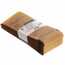 Расходные материалы - Пакеты бумажные самоклеящиеся «СтериТ» 75*150 мм (крафт 100шт), 0