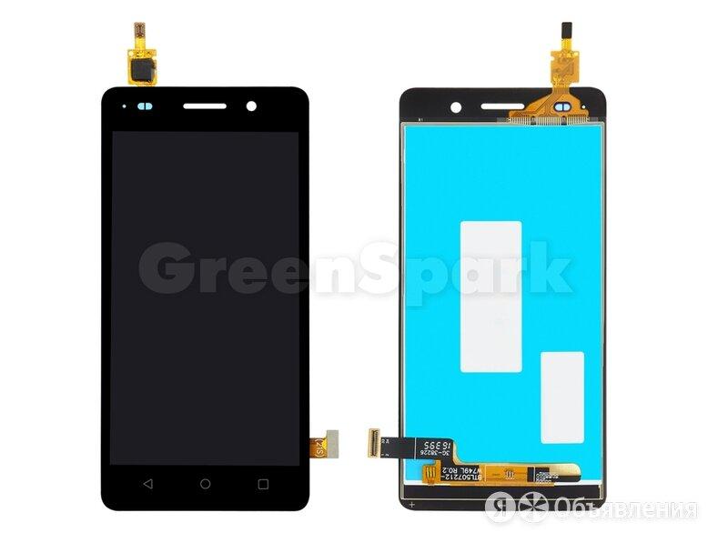 Дисплей для Huawei Honor 4C + тачскрин (черный) по цене 950₽ - Дисплеи и тачскрины, фото 0