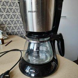 Кофеварки и кофемашины - Кофеварка капельного типа philips hd7457, 0