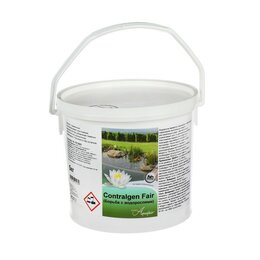 Отпугиватели и ловушки для птиц и грызунов - Средство для борьбы с водорослями Contralgen Fair в искусственных водоёмах, 5кг, 0