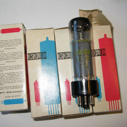 Запчасти к аудио- и видеотехнике - Лампа электронная EL 34 новые в коробках и без , 0