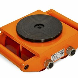 Принадлежности и запчасти для станков - Роликовая платформа поворотная TOR CRA-9 г/п 15т (без ручки), 0