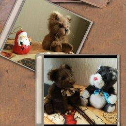 Мягкие игрушки - Мягкие игрушки из натурального меха, игрушки тедди , 0