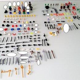 Игровые наборы и фигурки - Lego Лего детали фигурок, головы, волосы, оружие, аксессуары и т.д, 0