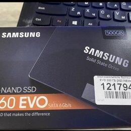 Жёсткие диски и SSD - Ssd m.2 500gb samsung mz-n6e500bw 860 evo, 0