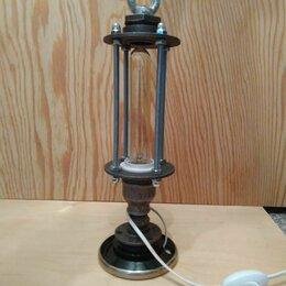 Настольные лампы и светильники - Светильник лофт, 0