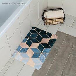 Дизайн, изготовление и реставрация товаров - Коврик для ванной «Бурлеск» 400*600 мм 4280835, 0