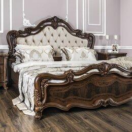 """Кровати - Кровать 1800*2000мм """"Илона"""" караваджо с мягким изголовьем, 0"""