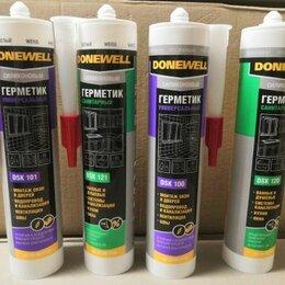 Изоляционные материалы - Герметик DONEWELL силиконовый белый 260мл., 0
