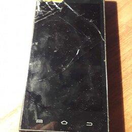 Дисплеи и тачскрины - Разбитый жк экран телефона на запчасти., 0
