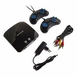 Ретро-консоли и электронные игры - Игровая приставка Sega Магистр Titan 3, 16-bit, 500 игр, 2 геймпада, 0