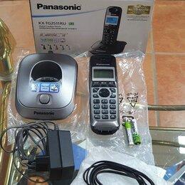 Радиотелефоны - Радиотелефон panasonic KX-TG2511RUT, 0