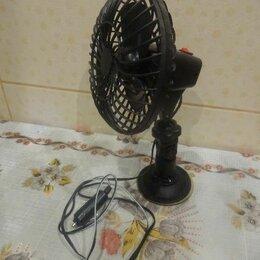 Аксессуары для салона - Автомобильный вентилятор на присоске c питанием от прикуривателя, 0