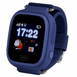 Умные часы и браслеты - Детские часы Smart Baby Watch Q80 Blue, 0