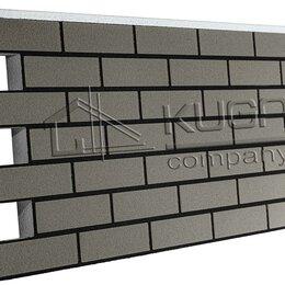 Фасадные панели - Термопанель Клинкер, Серый (0,858м2), 0